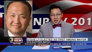 3 HMONG NEWS: Chonburi Lee talks with Mayor-elect Steve Ly on LIVE broadcast.