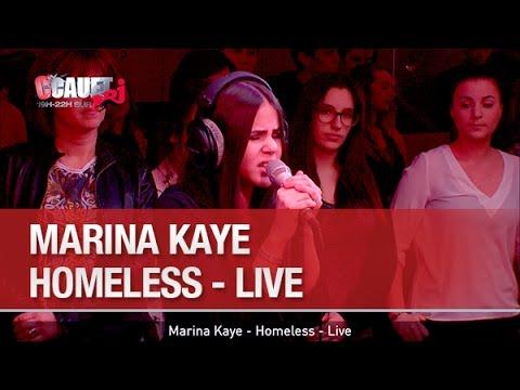 Marina Kaye - Homeless - Live - C'Cauet sur NRJ