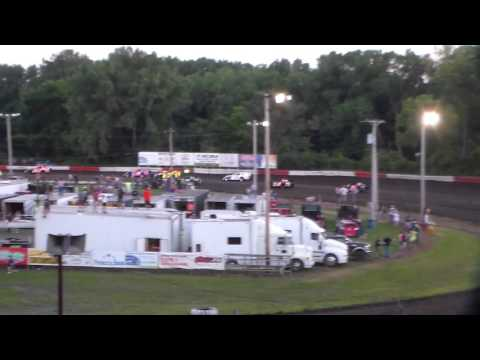 Modified Heat 3 @ Hamilton County Speedway 08/09/16