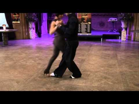 Strictly Stars Vincent And Flavia Star In Midnight Tango
