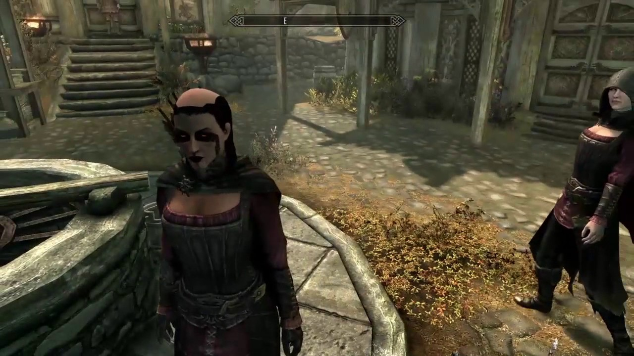 Skyrim Se Glitch Thieves Guild Hood Induced Baldness Youtube
