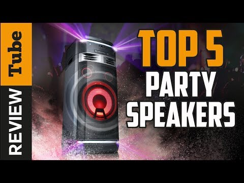 ✅Party Speaker: Best Party Speakers 2019 (Buying Guide)