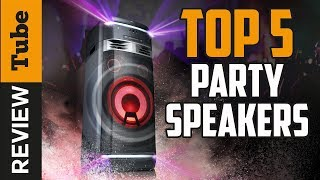 ✅Party Speaker: Best Party Speaker 2019 (Buying Guide)
