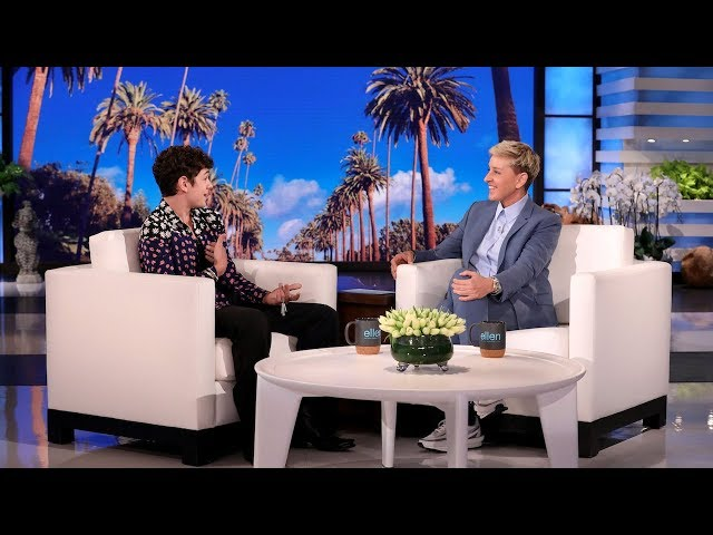 Actor Noah Jupe Jogs Ellen's Memory of Their First Interaction