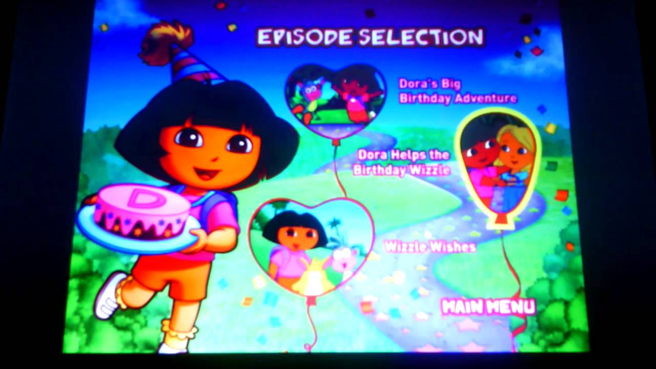 Dora the Explorer Doras Big Birthday Adventure YouTube