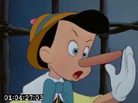 Pinocchio le bugie fanno crescere il naso youtube