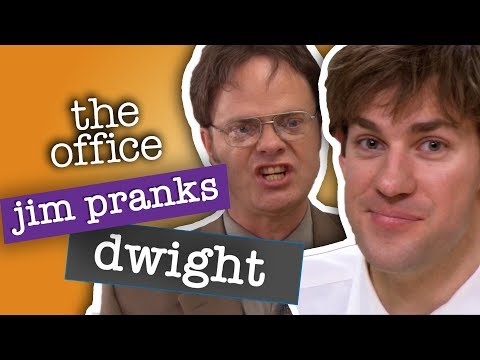 Jim's Best Pranks Against Dwight  - The Office US