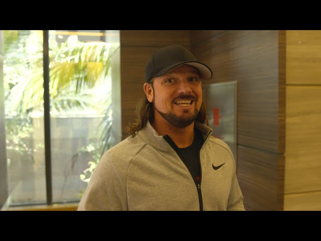 Fans' excitement for the Greatest Royal Rumble has AJ Styles pumped
