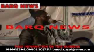 BARQ NEWS..AIMIM SUPREMO WARNS SIASAT EDITOR ZAHID ALI KHAN