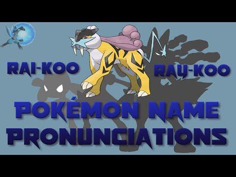 Pokémon Name Pronunciations