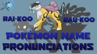 pokmon name pronunciations