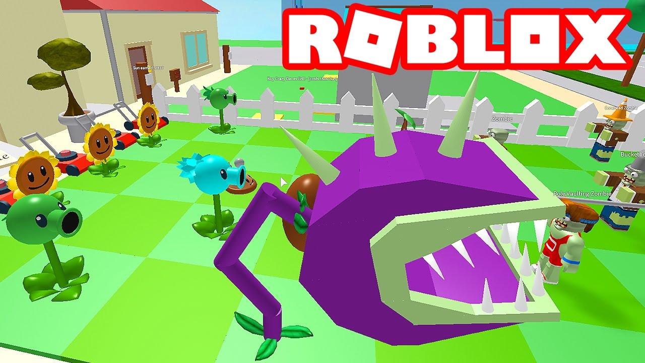 Roblox De Plants Vs Zombies