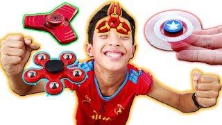 Tony | Chơi Spinner Trên Bộ Phận Cơ Thể - Play Spinner On Body
