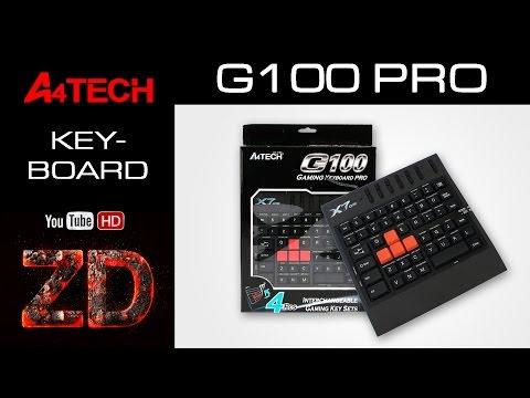 Распаковка игровой клавиатуры A4-Tech X7-G100