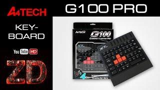 Розпакування ігрової клавіатури A4-Tech X7-G100