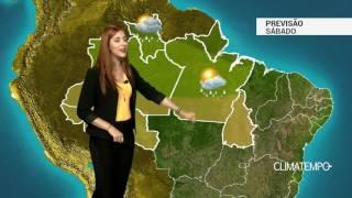 Previsão Norte - Chuva no norte da região