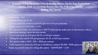 Selling Cash-Secured Puts: Lesson 7 - Exit Strategies and Position Management