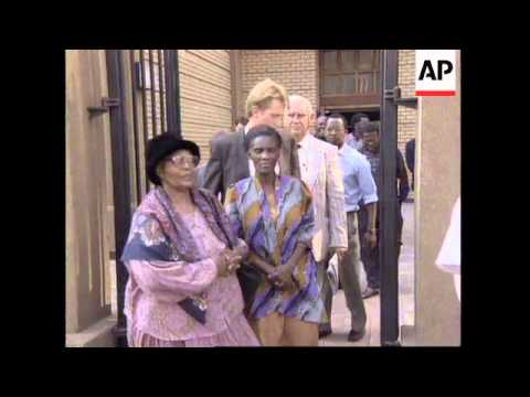 SOUTH AFRICA: P.W. BOTHA ACCUSED OF 1987 TRADE UNION OFFICE BOMBING