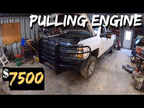 $7500 2015 Chevy Silverado 2500 4X4 - - MOTOR SWAP Part 2
