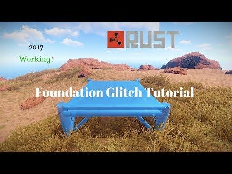 Rust Foundation Secret Loot Glitch/Exploit Tutorial 2017 Working