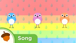 Learn colors with this Rainbow Song from Episode 6 of Treetop Famil...