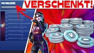 EPIC GAMES VERSCHENKT V-BUCKS! | Fortnite Challenges mit V-Bucks!