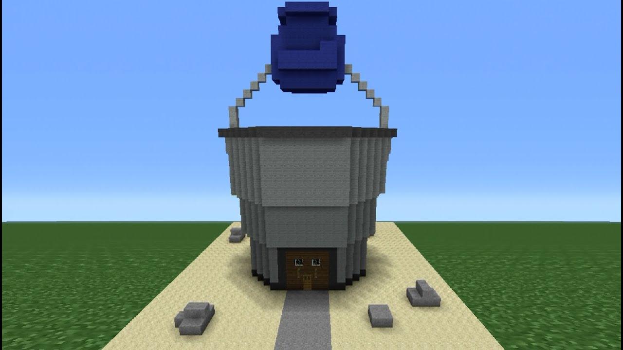 How To Build The Chum Bucket Minecraft