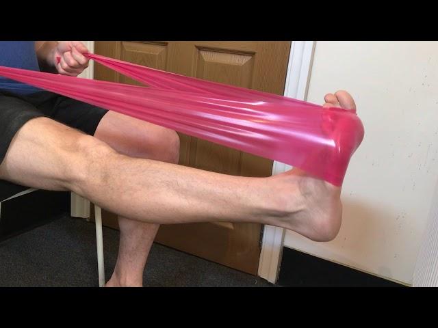 Calf Stretch for Plantar Fasciitis