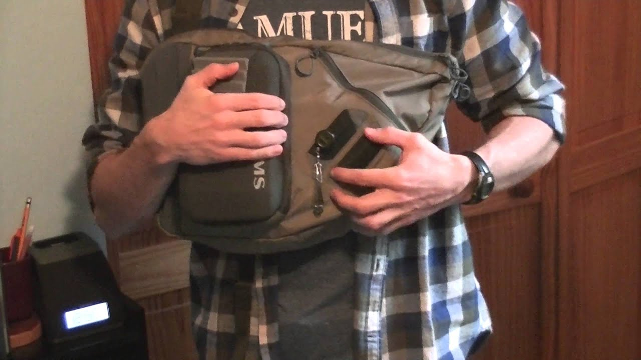 simms headwaters sling pack product tour and review youtube