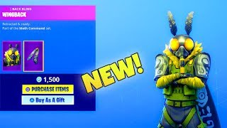 PEAU SECRÈTE «NOUVEAU»! MOTHMANDO (New Item Shop) Fortnite Battle Royale