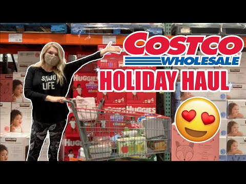 🛒 NEW! 🎄 HOLIDAY COSTCO HAUL!! *with a snack section tour* // Rachel K