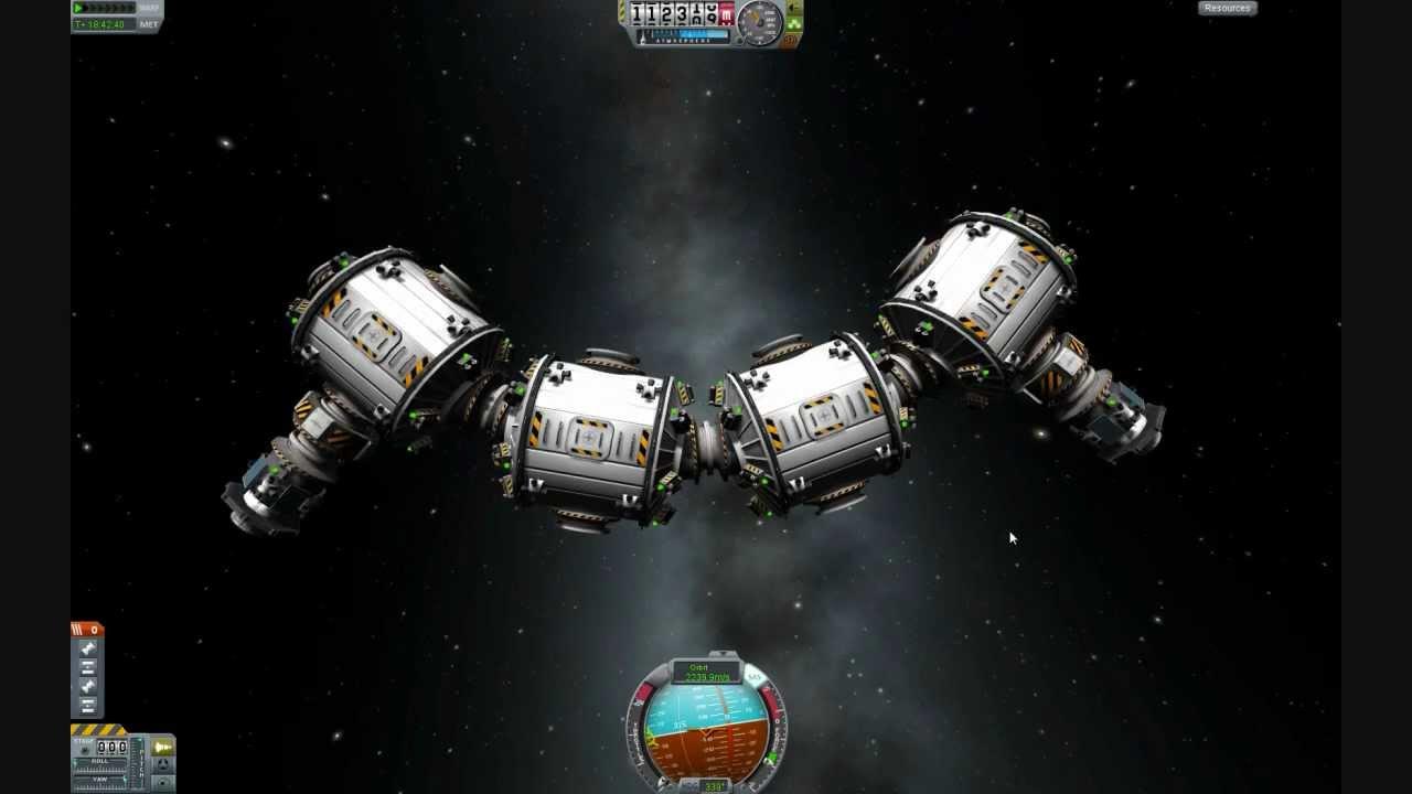 KSP 0182 Space Station Beginnings YouTube