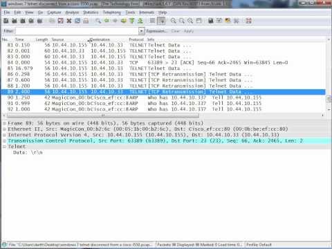 Observing TCP retransmissions with Wireshark - YouTube