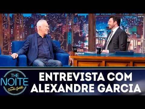 Entrevista com Alexandre Garcia  The Noite 220419