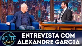 Entrevista com Alexandre Garcia   The Noite (22/04/19)