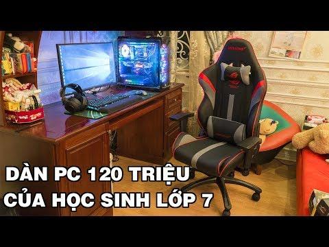 Timelapse Build Và Lắp đặt Tận Nhà Dàn PC Gaming 120 Triệu Của Em Học Sinh Lớp 7