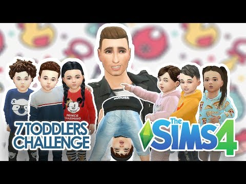 The Sims 4: 7 Toddler Challenge #Dzień 2 w/ Tula