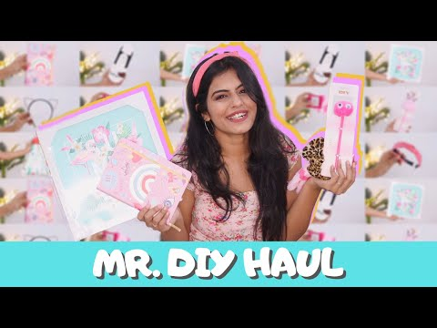 This Store Is Cheaper Than Miniso!!! Mr. DIY Haul | Dhwani Bhatt