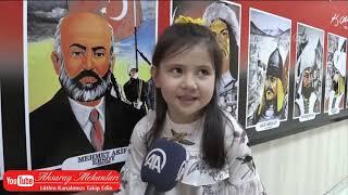 4 yaşındaki Hazal'ın İstiklal Marşı Çoşkusu...
