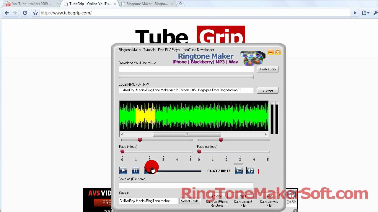 Ringtone Composer for Nokia Motorola Make Your Own Ringtones