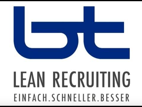 Lean Recruiting - einfach, schneller, besser