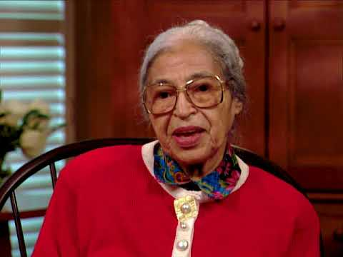 Rosa Parks interview (1995)