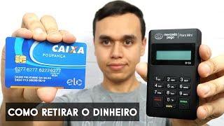 Como sacar dinheiro da Máquina de Cartão do Mercado Pago para conta