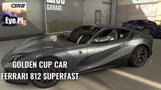 Gold cup car