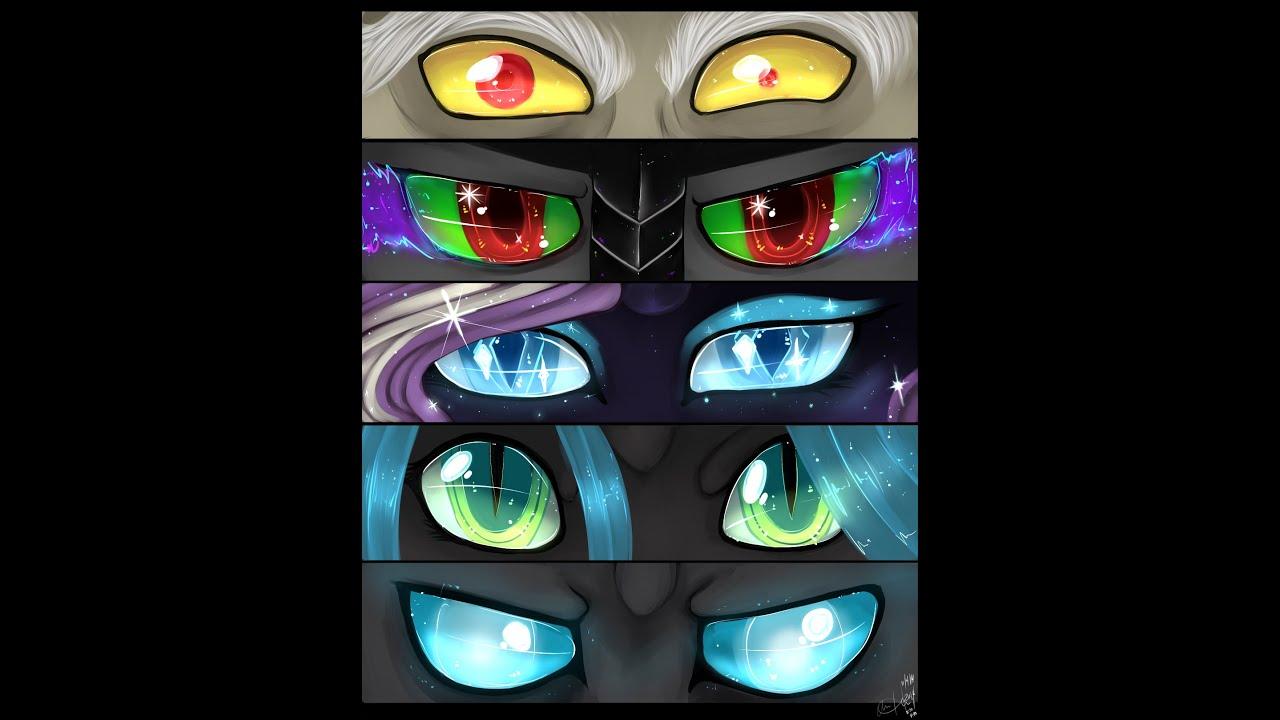 Cute Little Sister Wallpaper P Speedpaint Mlp Eyes Of Villans Discord Sombra