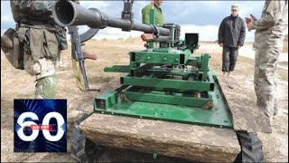 """Робот """"Охотник"""": Украина представила новое оружие. 60 минут от 25.06.18"""