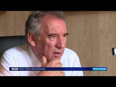 ★ Une journée avec François Bayrou, maire de Pau et patron du MODEM ★