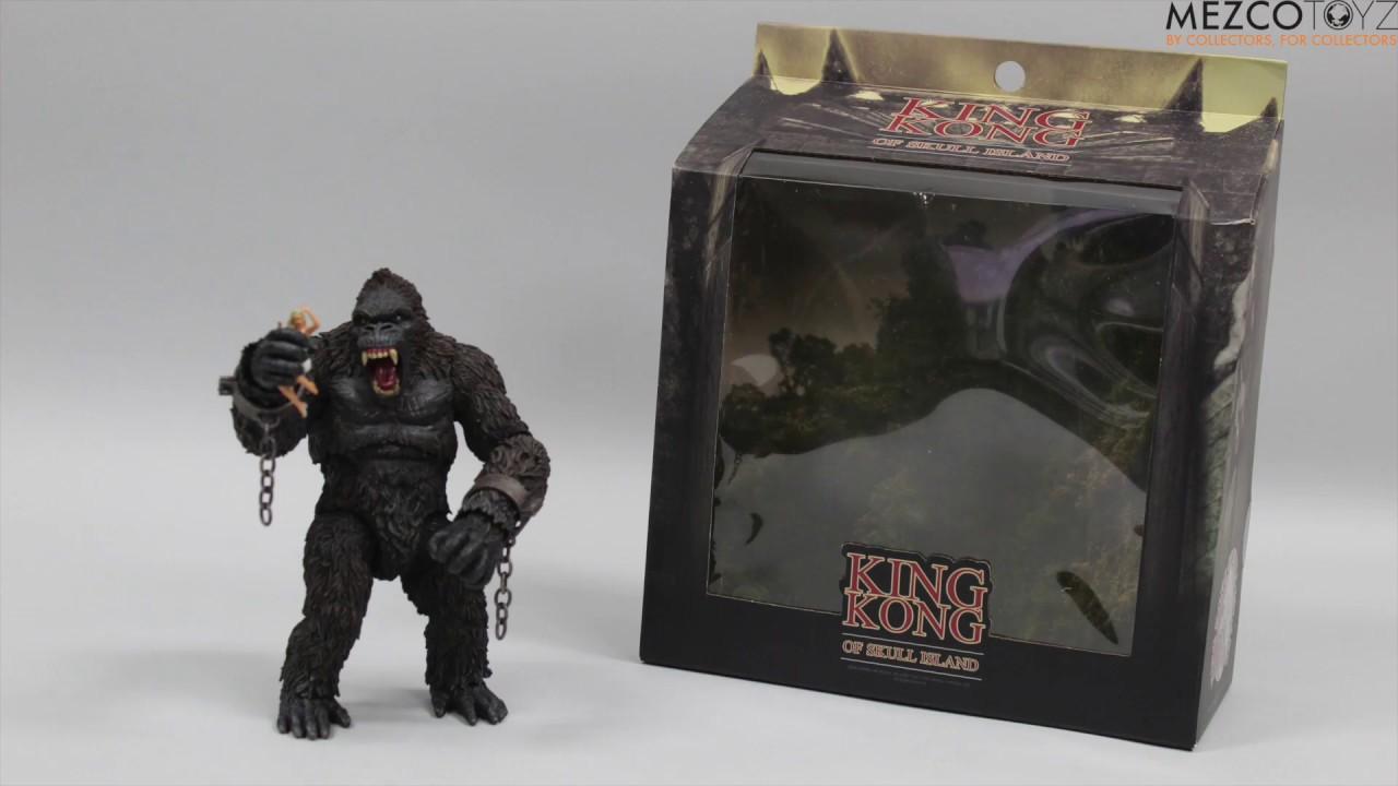 Mezco Toyz New King Kong Of Skull Island Action Figure 2018
