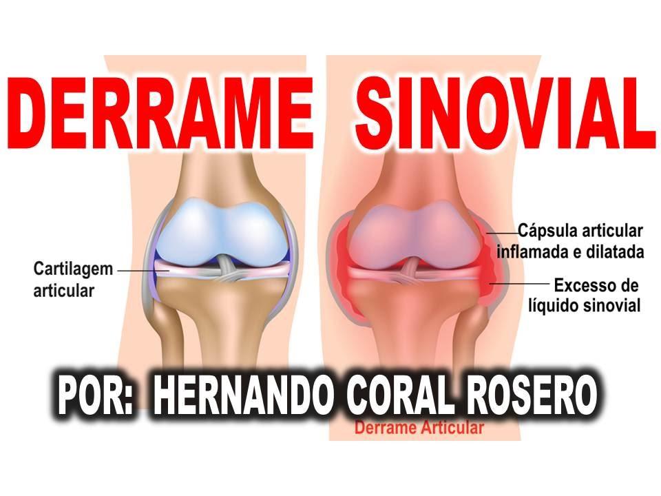 tratamiento por liquido en la rodilla