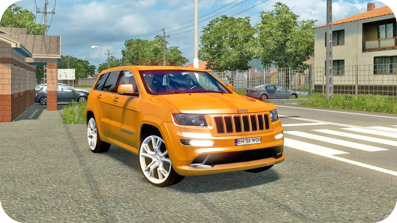 Jeep Grand Cherokee Ets2 Euro Truck Simulator 2 Youtube